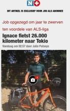Nacho on a bike Nieuwsblad