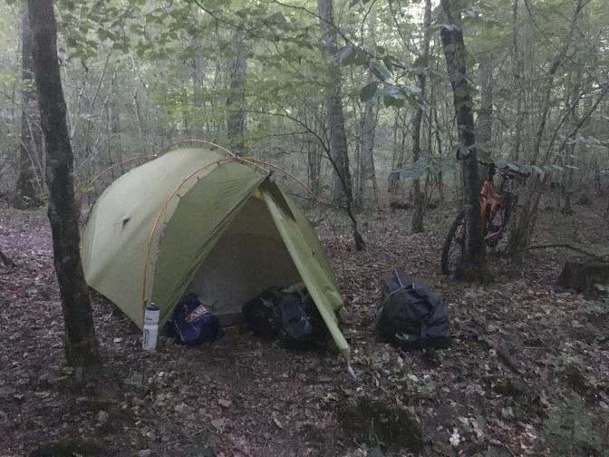 Dag 3: Top kampeerplaats aan de rivier.