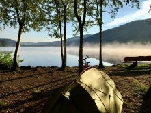 Camping aan Titisee.