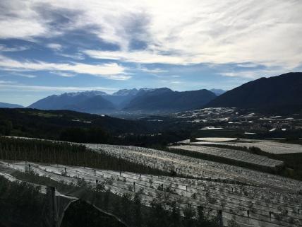 Appels en bergen: Italië!