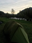 Tent in Val di Sole.