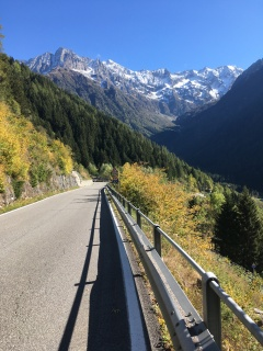 Afdaling Passo del Tonale.