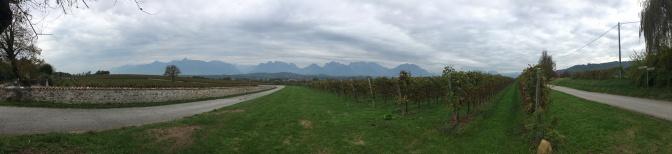 De bergen terug in zicht!