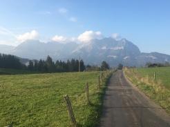 De omgeving van Ellmau.