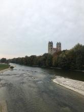 Isar in München.