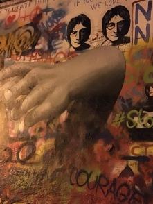John Lennon wall.