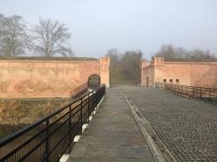 Ruine stadje in Polen. Kapotgeschoten tijdens de WO.
