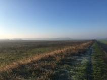 Landschap in Polen.