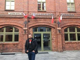 Maciej en Pierniki museum.