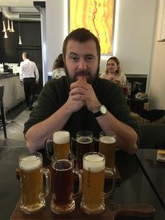 Bier proeven in Poznan.