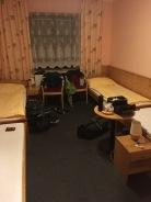 Bedje in Skrdlovice, in een hotel.