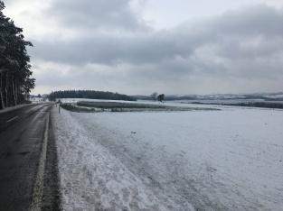 Winterlandschap in Oostenrijk.