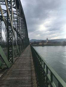 De Donau over in Krems.