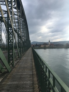 De Donau over in Krems.
