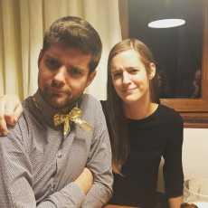 Isabel en ik.