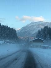 Weg naar Lunz am See.
