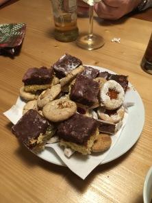 Kerst koekjes! Veel van gegeten.