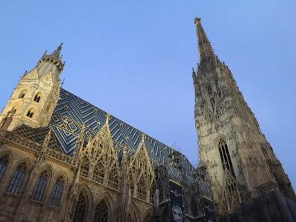 Halve dag in Wenen rondgehangen.