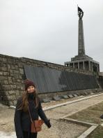 Laura in Bratislava.