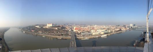 Vanop de Ufo in Bratislava.