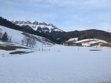 De laatste winterlandschappen.
