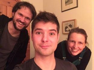Met Martin en Mimi in Küb.