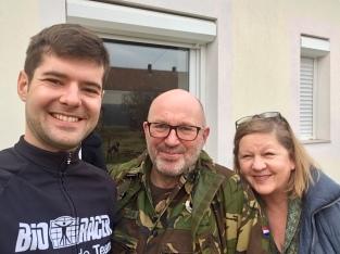 Met Ed en Hanneke in Nagyacsad.