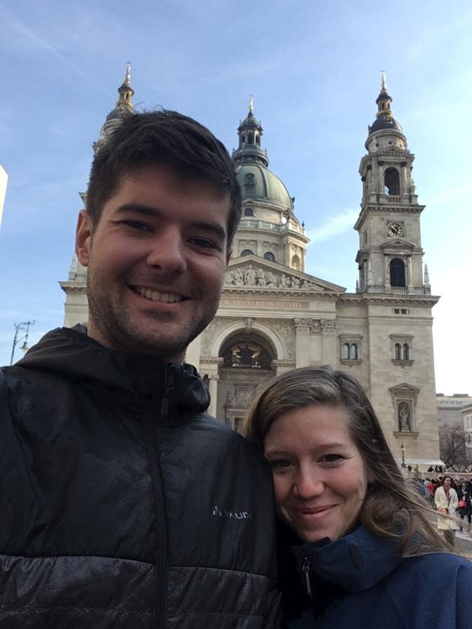 Met Laura in Boedapest.