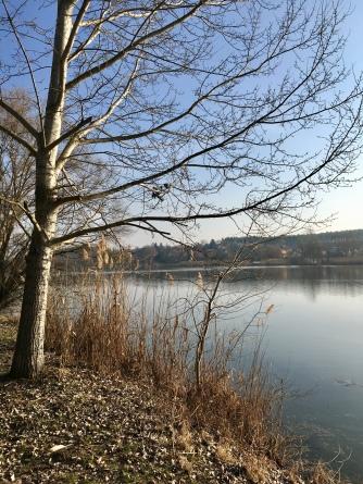 Mooi meer in Hongarije.