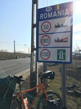 Grens Hongarije - Roemenië.