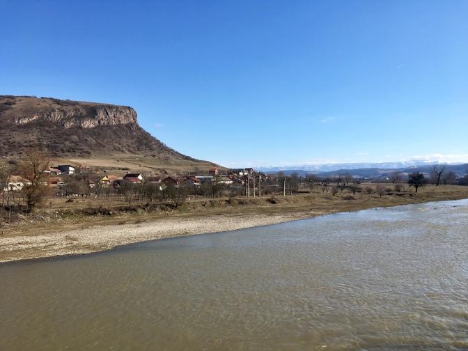 Roemeens landschap.