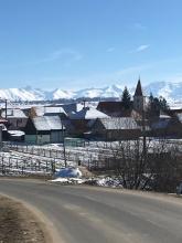 Roemeens dorpje.