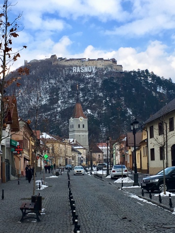 Rasnov. Niet de enige stad in Roemenië met Hollywood allures.