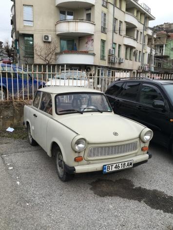 Bulgarije - old school auto's.
