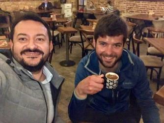 Turkse koffie met Ali.