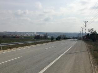 Grote wegen in Turkije.