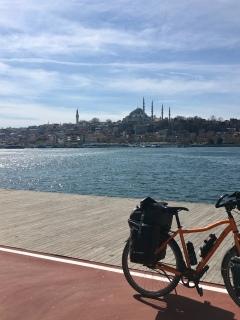 Aankomst in Istanbul.