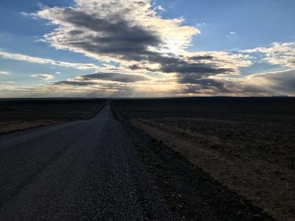 Verschrikkelijke kilometers met mooi zicht.