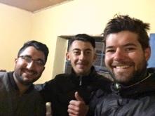 Helden van de dag Ahmed (Links) en Mustafa.