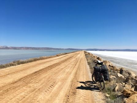 Slechte weg, maar het uitzicht was het meer dan waard.