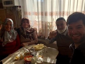 Bij de ouders van Fatih in Aksaray (Fadimana - Gülbahar - Etem).