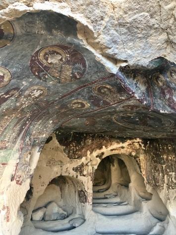 Kerken in de rotsen in Ilhara valley.