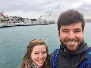 Samen met Laura voet in Azië zetten.