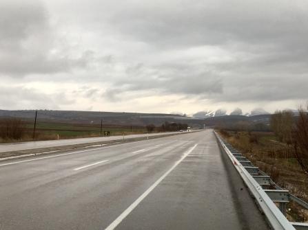 Op weg naar Pinarbasi.