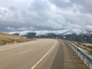 Op 1800m op weg naar Malatya.