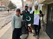 Mijn eerste Pakistaanse vrienden!