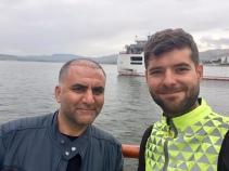 Ontmoeting met Ali op de veerboot.