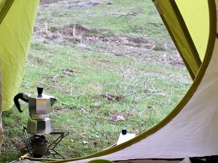 Koffie in de ochtend.