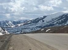 Op 2000m, naar Erzurum.
