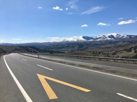 Richting Erzurum.